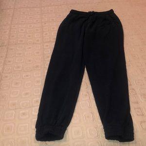Navy Brandy Melville sweatpants